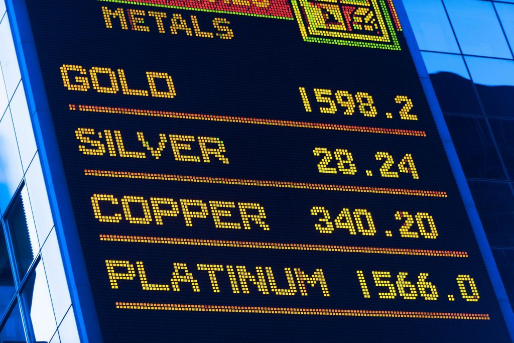 Metals Investment tips